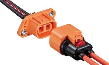 对应车载 高电压连接器  HVH-280系列 汽车/汽车连接器