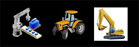 工业设备、农业设备、建筑设备