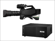 Professional camera broadcasting equipment