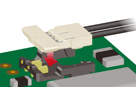 Vertical Mating Wire-to-Board Connectors