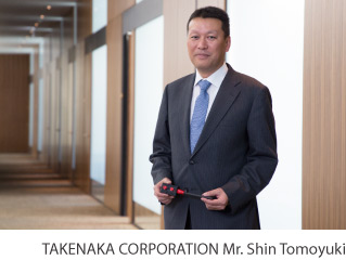 TAKENAKA CORPORATION Mr. Shin Tomoyuki