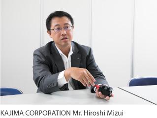 KAJIMA CORPORATION Mr. Hiroshi Mizui