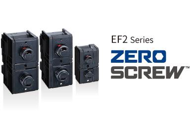 ZERO SCREW™ terminal block EF2 series