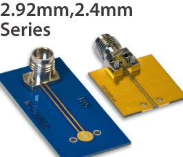 2.92mm, 2.4mm, Vertical Launch/End Launch Coaxial Connectors & Cable Connector Assemblies