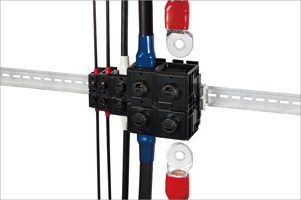 [ZERO SCREW™ Terminal Block] Up to 400A EF2 Series
