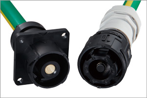 Plastic Connector for a High Current Applications EM30M Series