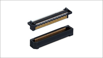 10⁺Gbps 0.8mm pitch Board-to-Board Connectors ER8 Series