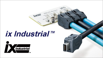 Compact / Robust / High-speed<br>ix Industrial™