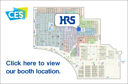 CES 2019 - Hirose Electric Ces Map on