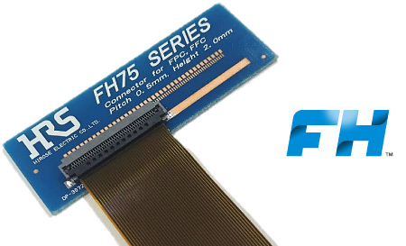 FPC/FFC Connector FH75 Series for Automotive Applications