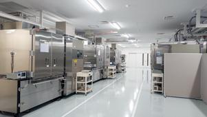 Inside the test center