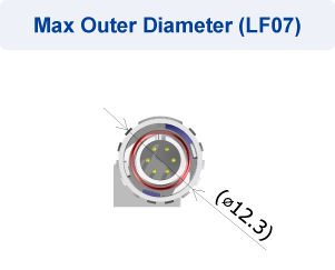 Max Outer Diameter (LF07)