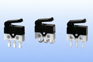 Ultra compact size snap-action switch DH Series