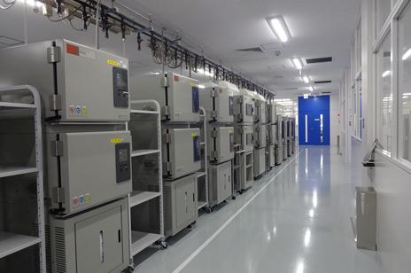 試験設備を150台以上に増強、車載用コネクタ、自動車用コネクタ
