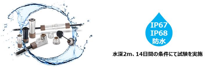 水深2m, 14日間の条件で試験を実施