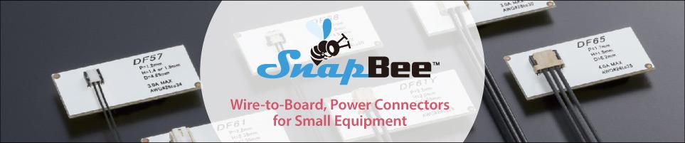 SnapBee 基板対ケーブルコネクタ